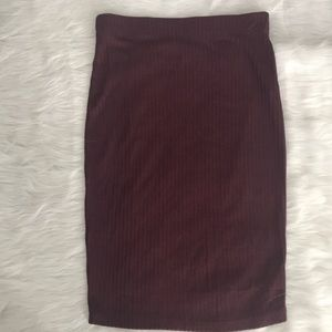 Forever 21 Pencil Stretch Skirt